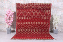 Small 3x5 Antique straw moroccan mat Berber Straw Mat Rug Vintage Moroccan hassira carpet