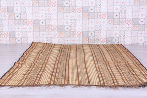 Tuareg Mat in Antique, 5.9ft x 12.6ft