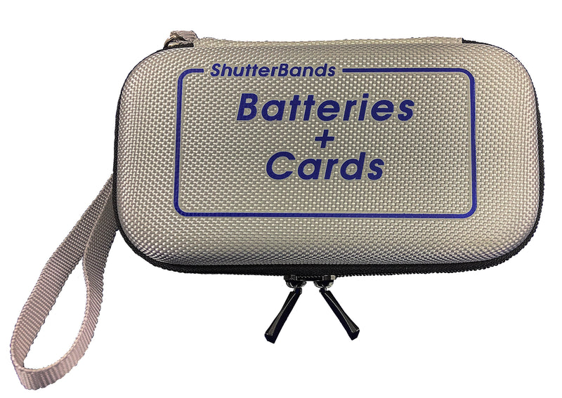 Clearance - Batteries + Cards Case for Canon NB-10L