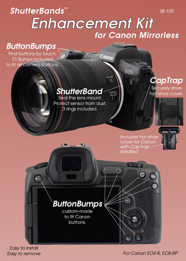 ShutterBands Enhancement Kit for Canon Mirrorless (SB-105)