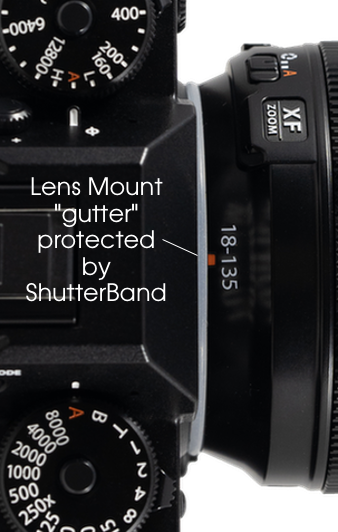Extra ShutterBands Rings for Fujifilm X-Series