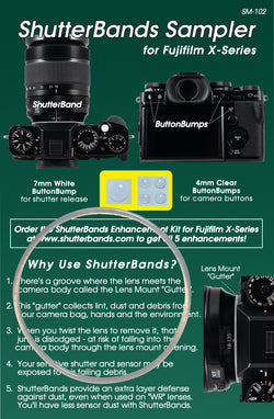 ShutterBands Sampler - Fujifilm X-Series