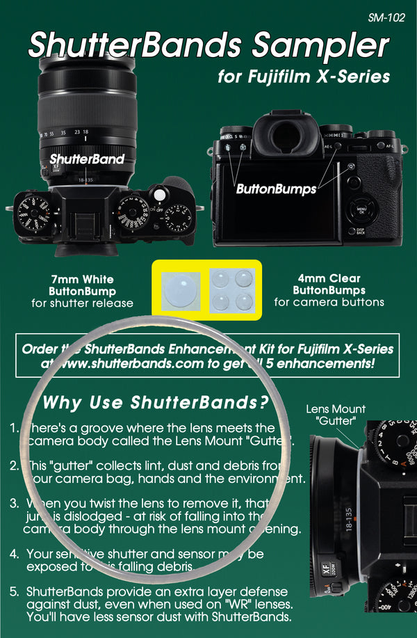 ShutterBands Samplers
