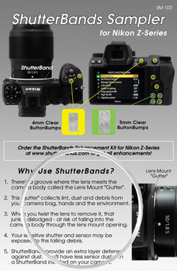 ShutterBands Sampler - Nikon Mirrorless