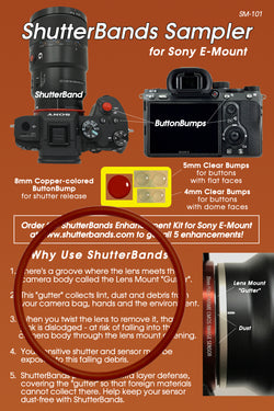 ShutterBands Sampler - Sony E-Mount