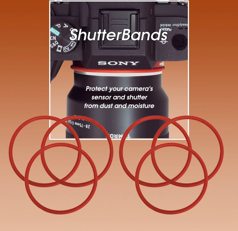 Extra ShutterBands Rings for Sony