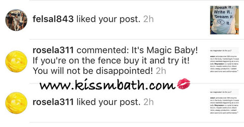 @rosela311 commented: It's Magic Baby! If you're on the fence, buy it and try it! You will not be disappointed! @kissmybath