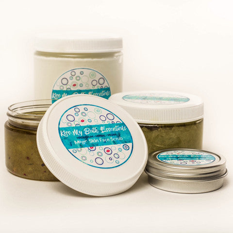 Kiss My Bath Products - Magnesium and Herbal Infused, Vegan Body Products