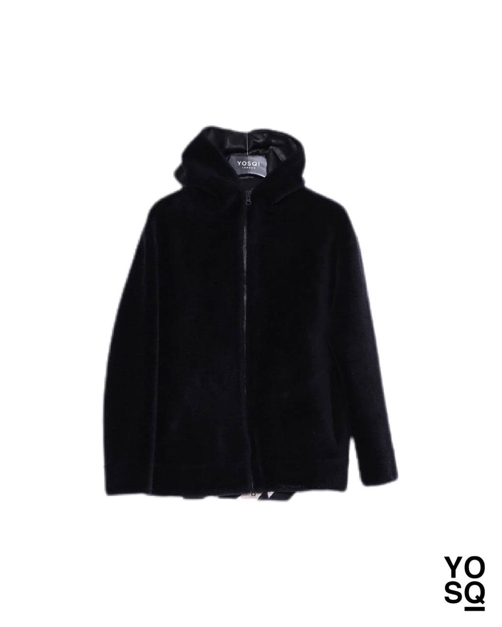Onyx Cashmere Woolen Shearling