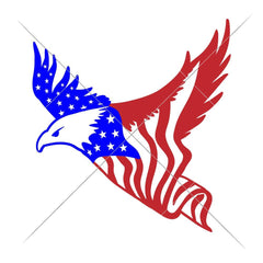 American Eagle Flag Svg Png Dxf Eps Svg Dxf Png Cutting File