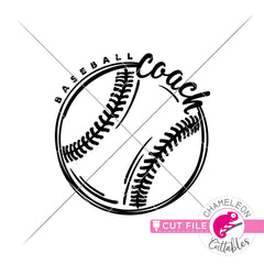 Baseball Coach Sketch Drawing svg png dxf eps jpeg SVG DXF PNG Cutting File