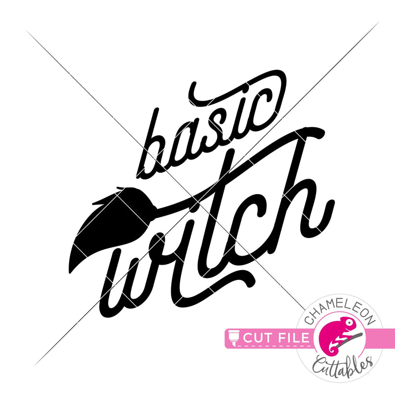 Basic Witch Halloween svg png dxf eps jpeg SVG DXF PNG Cutting File