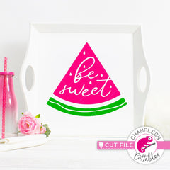 Be sweet watermelon clipart svg png dxf eps jpeg SVG DXF PNG Cutting File