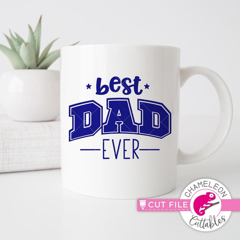 Best Dad Ever svg png dxf eps SVG DXF PNG Cutting File