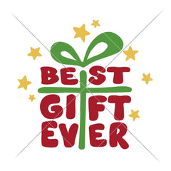 Best Gift Ever Christmas Svg Png Dxf Eps Svg Dxf Png Cutting File