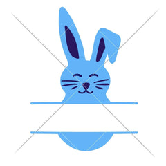 Bunny Boy Split Design Svg Png Dxf Eps Svg Dxf Png Cutting File