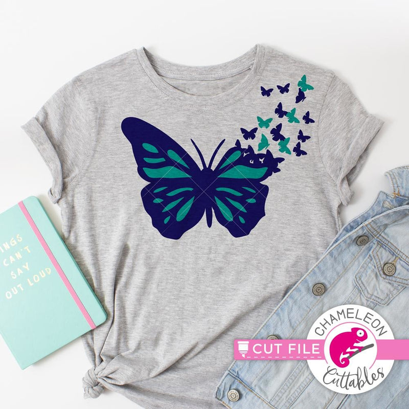 Butterfly svg png dxf eps jpeg SVG DXF PNG Cutting File