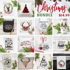 Christmas Bundle (1) Svg Dxf Png Cutting File
