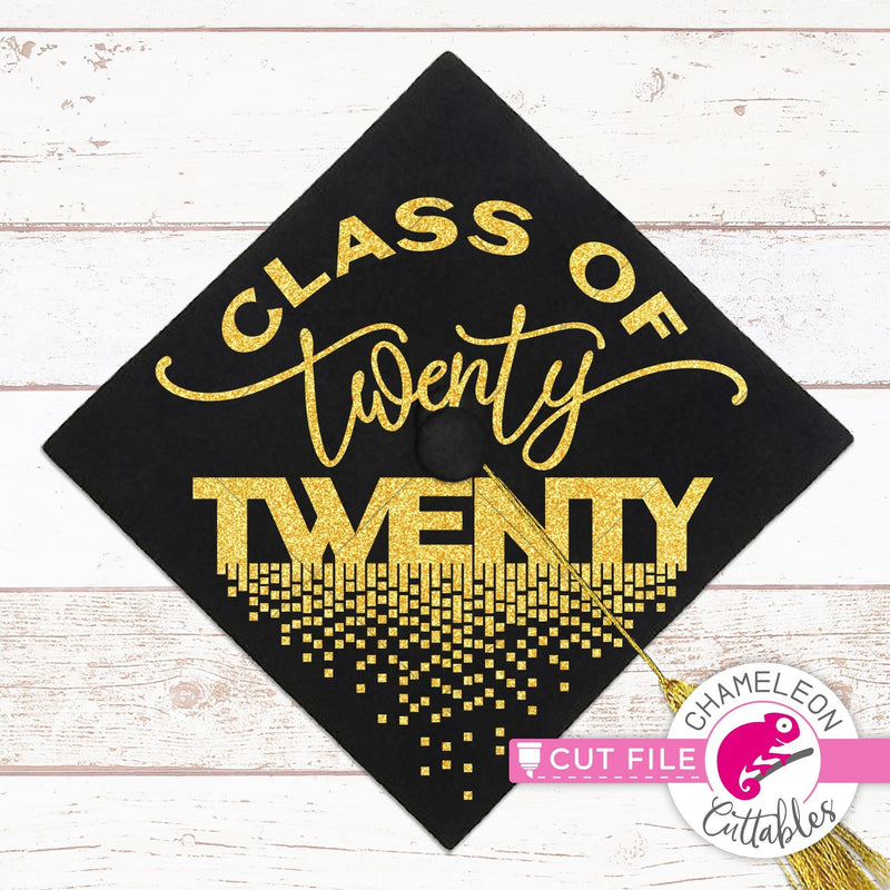 Class of 2020 graduation cap svg png dxf eps jpeg SVG DXF PNG Cutting File