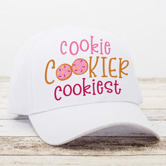 Cookie Cookier Cookiest - Sugar Cookies svg png dxf eps SVG DXF PNG Cutting File
