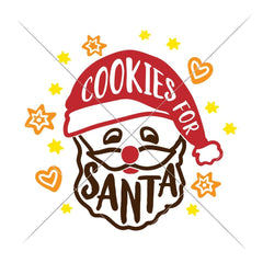 Cookies For Santa Svg Png Dxf Eps Svg Dxf Png Cutting File