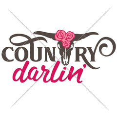 Country Darlin Svg Png Dxf Eps Svg Dxf Png Cutting File
