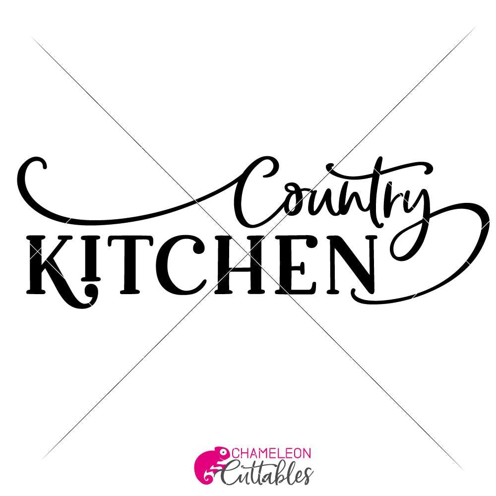 Country Kitchen Svg Png Dxf Eps
