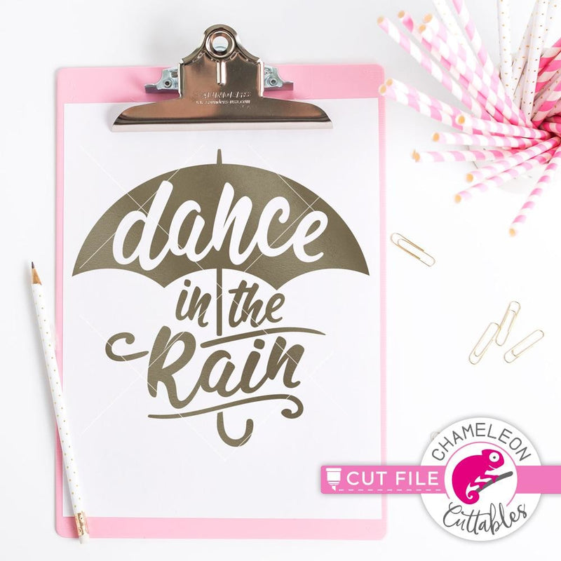 Dance In The Rain Svg Png Dxf Eps Svg Dxf Png Cutting File