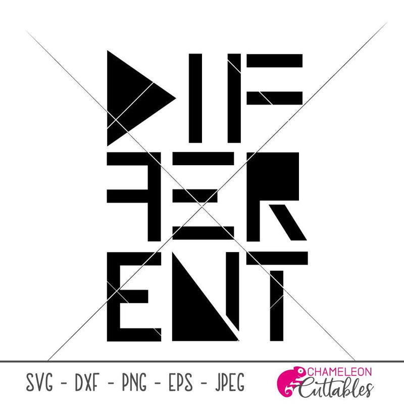 Different svg png dxf eps SVG DXF PNG Cutting File