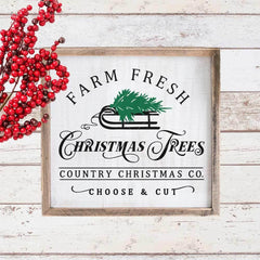 Farm Fresh Christmas Trees Svg Png Dxf Eps Svg Dxf Png Cutting File