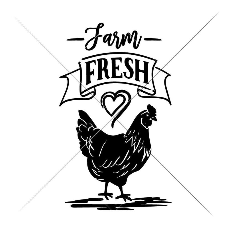 Farm Fresh Svg Png Dxf Eps Svg Dxf Png Cutting File