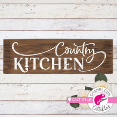 Farmhouse Kitchen Bundle SVG DXF PNG Cutting File