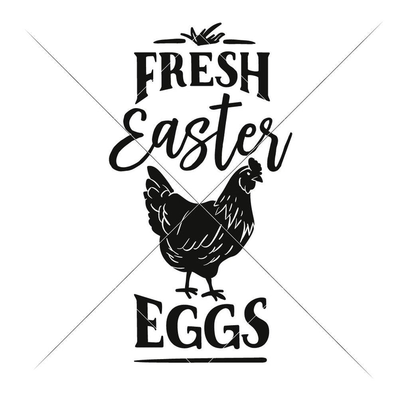 Fresh Easter Eggs Svg Png Dxf Eps Svg Dxf Png Cutting File
