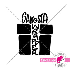Gangsta Wrapper svg png dxf eps jpeg SVG DXF PNG Cutting File