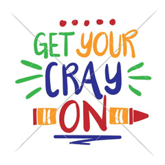 Get your Crayon multi color svg png dxf eps SVG DXF PNG Cutting File