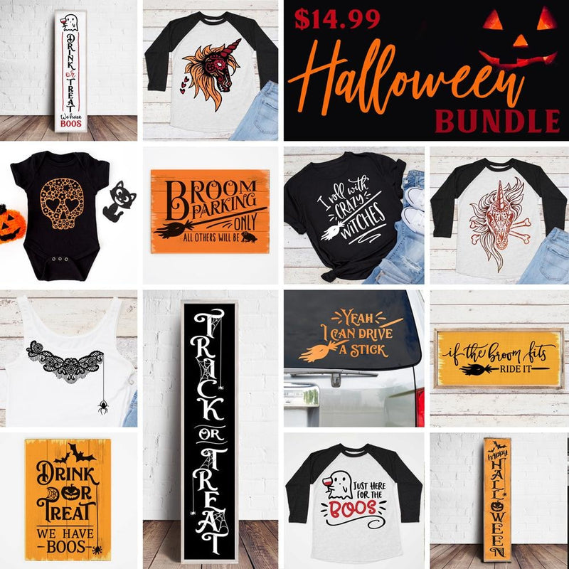 Halloween Bundle Svg Dxf Png Cutting File