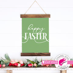 Happy Easter modern Farmhouse svg png dxf eps jpeg SVG DXF PNG Cutting File
