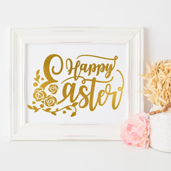 Happy Easter Svg Png Dxf Eps Svg Dxf Png Cutting File