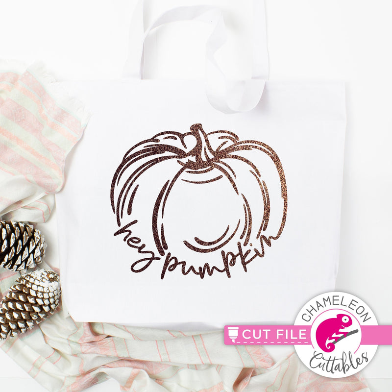Hey Pumpkin sketch svg png dxf eps jpeg SVG DXF PNG Cutting File