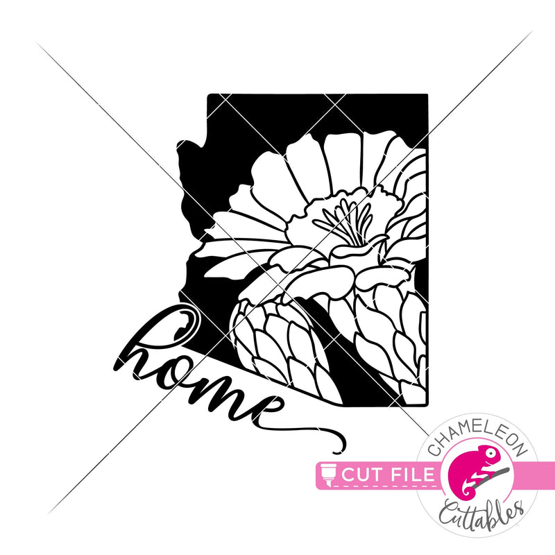 Home Arizona state flower saguaro blossom svg png dxf eps jpeg SVG DXF PNG Cutting File