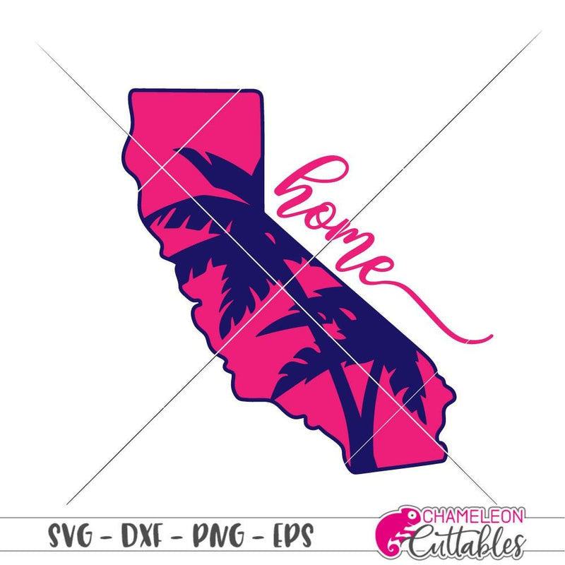 Home California palm trees svg png dxf eps SVG DXF PNG Cutting File