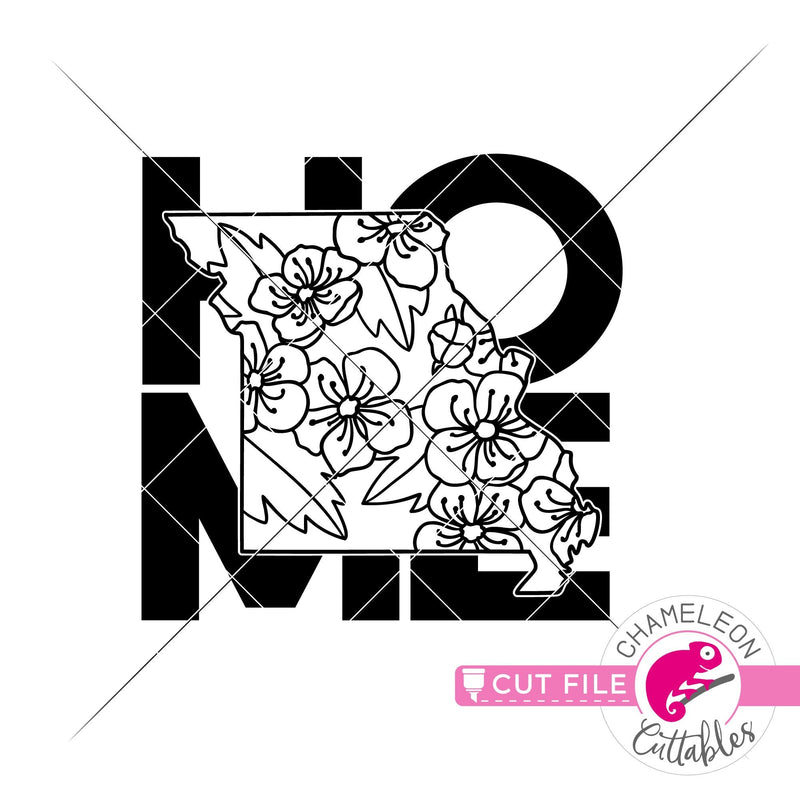 Home Missouri state flower hawthorn square svg png dxf eps jpeg SVG DXF PNG Cutting File