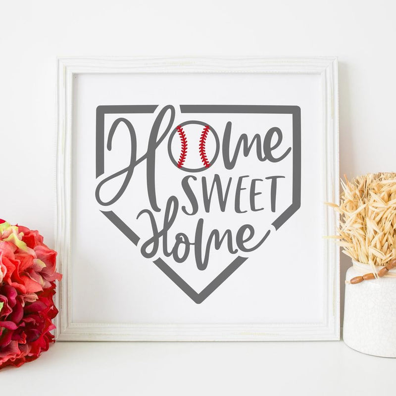 Home Sweet Home Plate Baseball Svg Png Dxf Eps Svg Dxf Png Cutting File