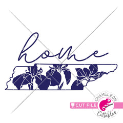 Home Tennessee state flower iris svg png dxf eps jpeg SVG DXF PNG Cutting File
