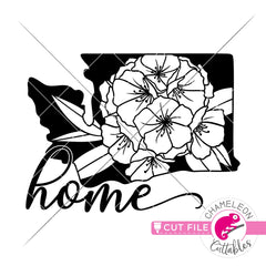 Home Washington state flower rhododendron svg png dxf eps jpeg SVG DXF PNG Cutting File