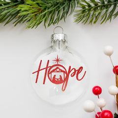 Hope With Nativity Scene Svg Png Dxf Eps Svg Dxf Png Cutting File