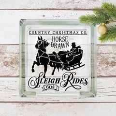 Horse Drawn Sleigh Rides Svg Png Dxf Eps Svg Dxf Png Cutting File