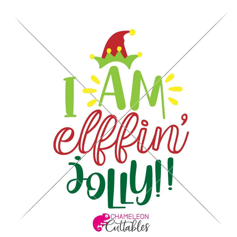 I Am Elffin Jolly Svg Png Dxf Eps Svg Dxf Png Cutting File