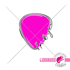 I pick you guitar pick svg png dxf eps jpeg SVG DXF PNG Cutting File