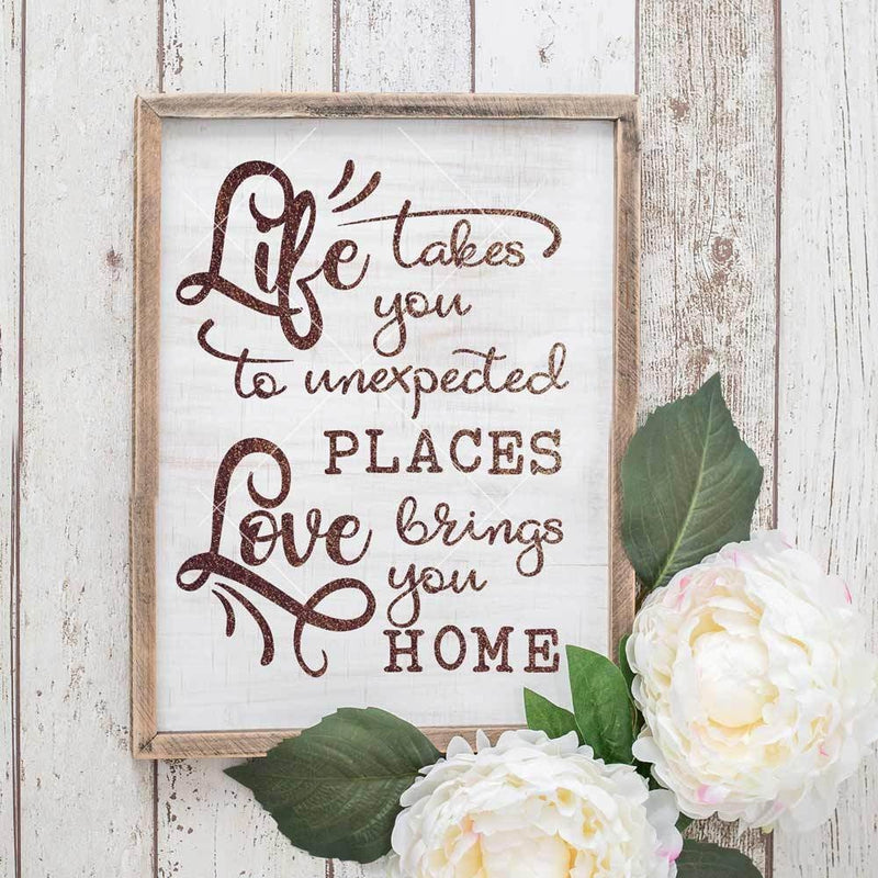 Life takes you unexpected places svg png dxf eps SVG DXF PNG Cutting File